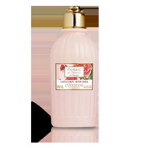 الحليب المنعّم للجسم من مجموعة الورود الملكية الحمراء