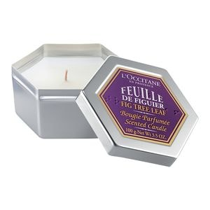 Fig Tree Leaf Candle