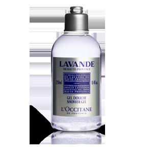 Organic Lavender Shower Gel