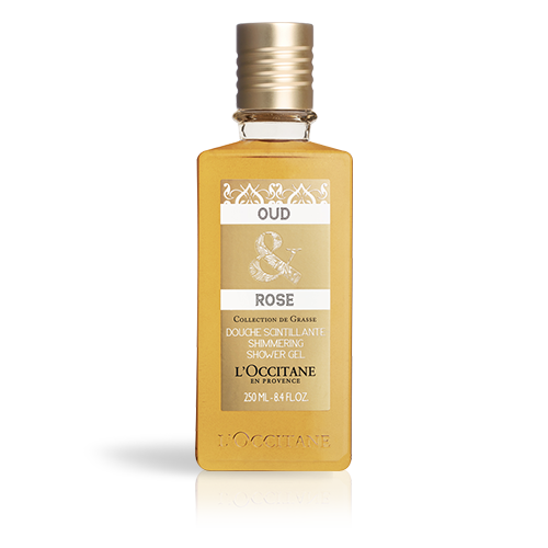 Oud & Rose Shimmering Shower
