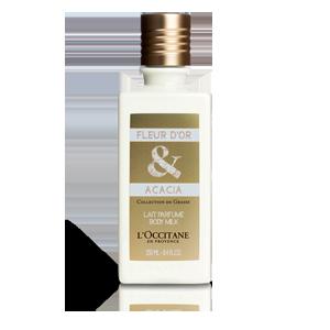 Fleur d'Or & Acacia Body Milk - Mimoza & Akasya Vücut Losyonu