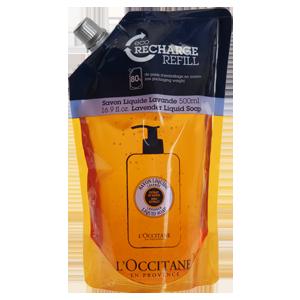 Shea Butter Liquid Soap Eco-Refill - Lavender - Shea Lavantalı Sıvı Sabun Ekonomik Yedek