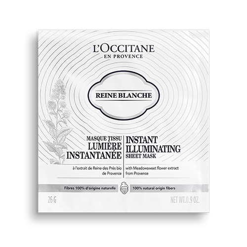 Reine Blanche Instant Illuminating Sheet Mask - Reıne Blanche Anında Aydınlatıcı Kağıt Maske 26 g