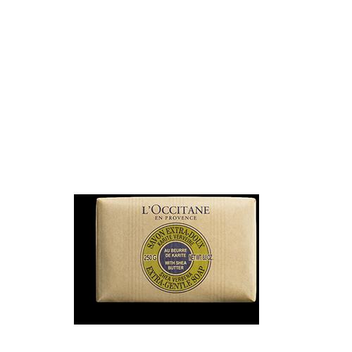 Shea Butter Extra Gentle Soap - Verbena - Shea Verbena Sabun 250 g