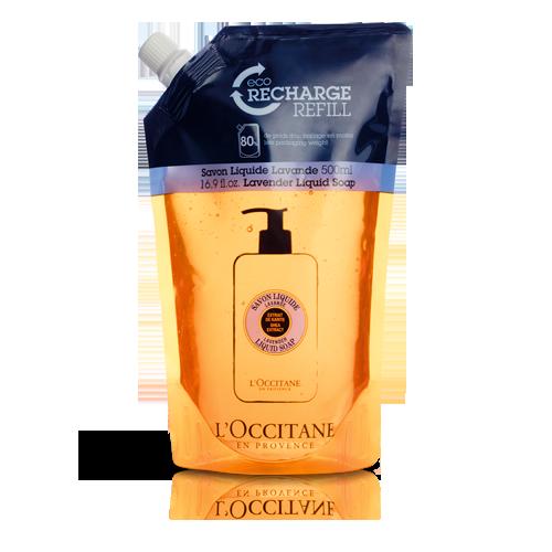 Shea Butter Liquid Soap Eco-Refill - Lavender - Shea Lavantalı Sıvı Sabun Ekolojik & Ekonomik Yedek 500 ml