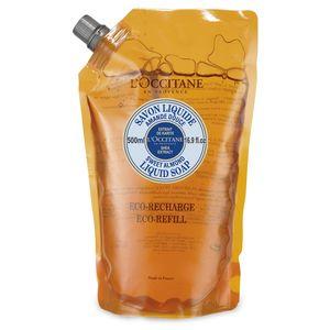 إعادة تعبئة صابون سائل زبدة الشيا واللّوز