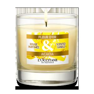 الشمعة المعطّرة من Fleur d'Or & Acacia