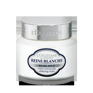 كريم تفتيح البشرة الغني من Reine Blanche