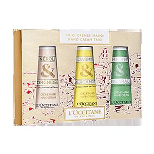 Hand Cream Trio Collection de Grasse