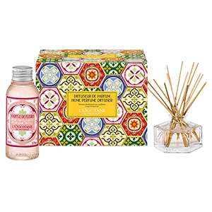 White Blossom Home Diffuser Set