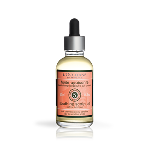 Aromachologie Soothing Scalp Oil before shampoo