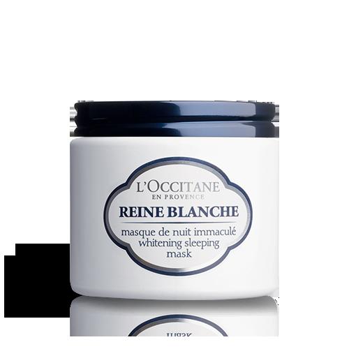 الماسك الليلي لتفتيح البشرة من Reine Blanche