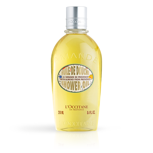 LIMITED EDITION DESIGN ALMOND SHOWER OIL