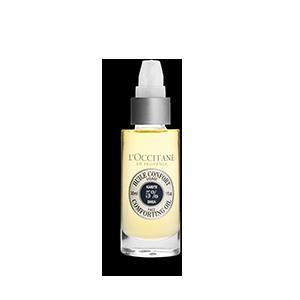 Подхранващо и успокояващо олио за лице  с карите