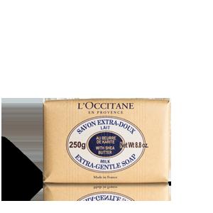 Сапун с масло от карите с млечен аромат