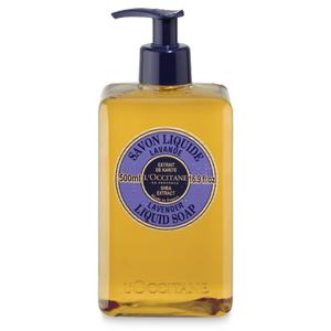 Течен сапун за ръце с масло от карите и лавандула