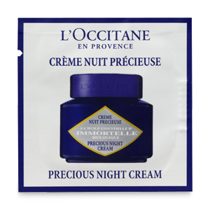 Immortelle Precious Night Cream Sample