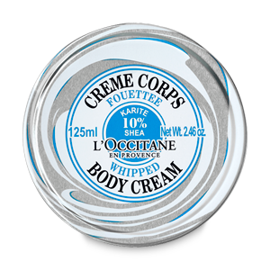 Shea Whipped Body Cream 125ml