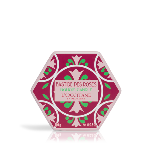 Ароматна свещ Роза