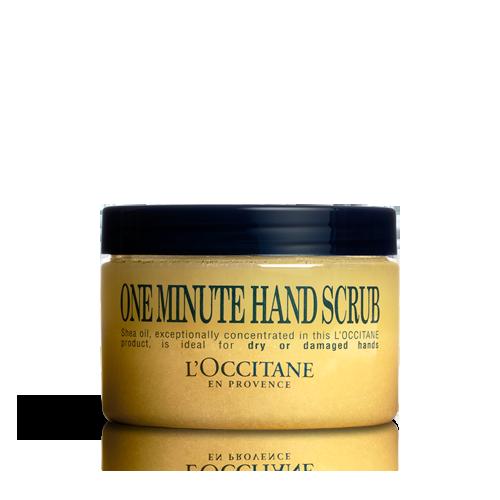 Ексфолиант за ръце с масло от карите