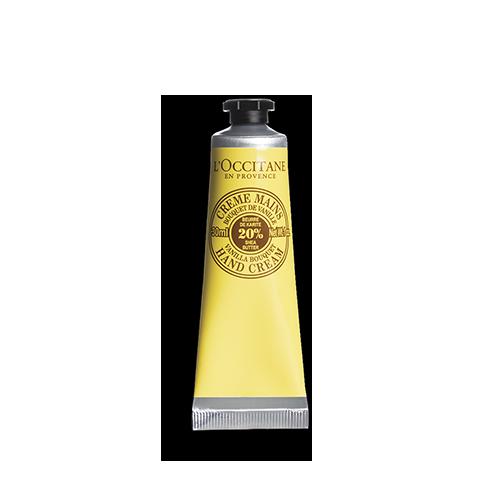 Крем за ръце с масло от карите и ванилия