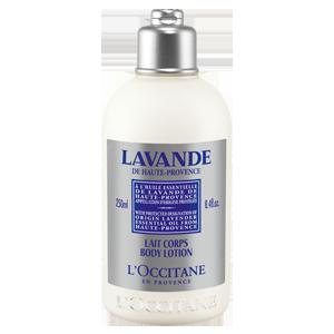 Organické tělové mléko Levandule