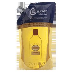Sprchový olej Mandle - Eko náhradní náplň