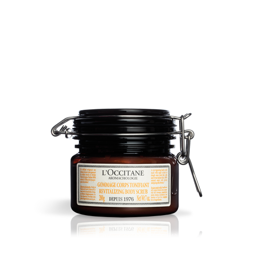 AROMACHOLOGIE Revitalizing Body Scrub
