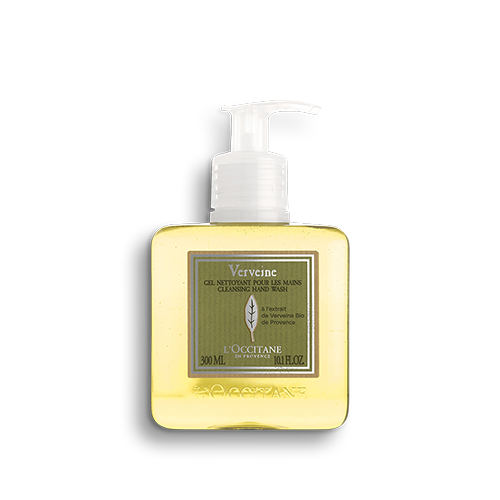 Čistící tekuté mýdlo na ruce s Verbenou