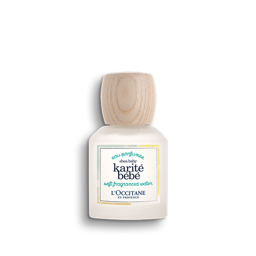 Něžná parfémová voda Shea Baby