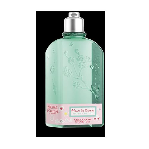 Sprchový gel Šťastná Třešeň - Třešňový květ
