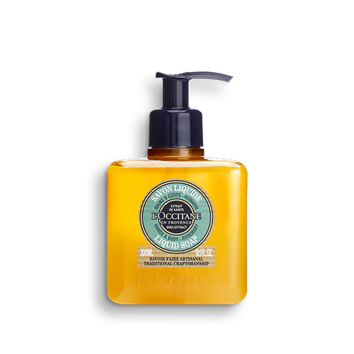 Tekuté mýdlo na ruce a tělo Bambucké máslo a Rozmarýn