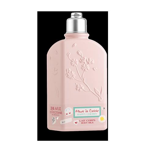 Tělové mléko Šťastná Třešeň - Třešňový květ