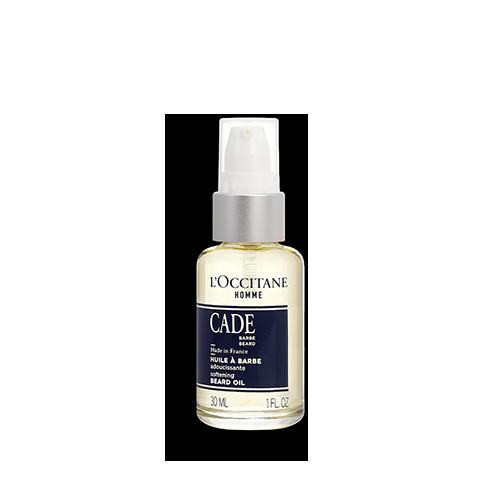 Změkčujicí olej na vousy Cade