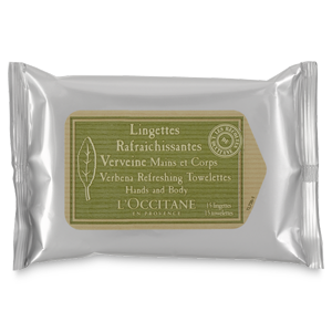 Verveine Refreshing Towelettes