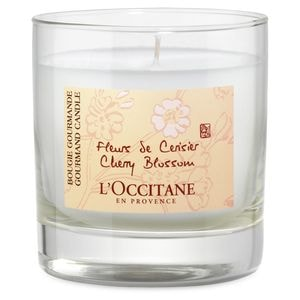 Kirschblüte Glaskerze 270 g