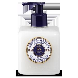 Sheabutter Extra Sanfte Hand- und Körperwaschlotion 300 ml