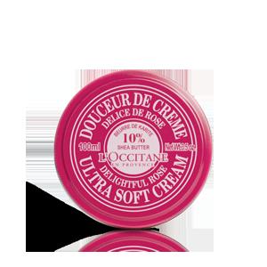 Sheabutter Körpercreme Rose 100 ml