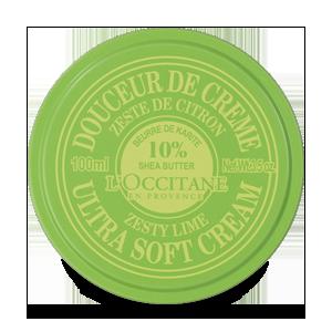 """Sheabutter """"Soft"""" Körpercreme Limette 100 ml"""