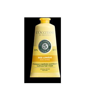 SOS Haarmaske Strahlender Glanz 50 ml - L'Occitane