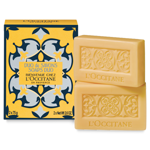 WELCOME TO L'OCCITANE Seifenstücke 2x75 g