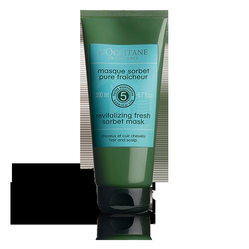 Aromachologie Revitalisierende Frische Sorbet-Maske für Haare und Kopfhaut 200 ml