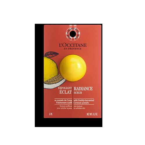 Einzelanwendung Fruchtige Peeling-Maske für strahlende Haut