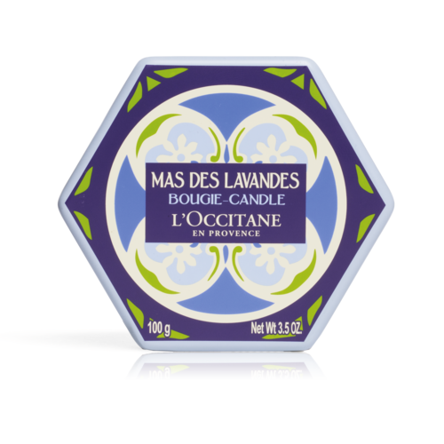 Lavendel Glaskerze 100 g