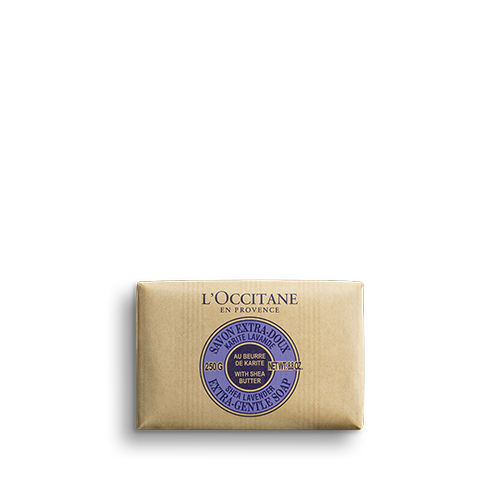 Sheabutter Lavendel Traditionelle Seife 250 g