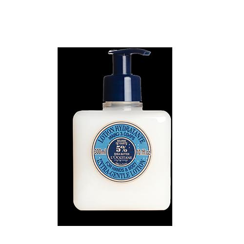 Sheabutter Lotion für Hände & Körper 300 ml