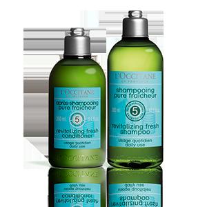 Aromachologie Revitalisierende Frische Duo Shampoo & Haarspülung