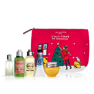 """Beauty-Täschchen """"Weihnachten in der Provence"""""""