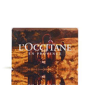 Carte Cadeau L'Occitane 100€