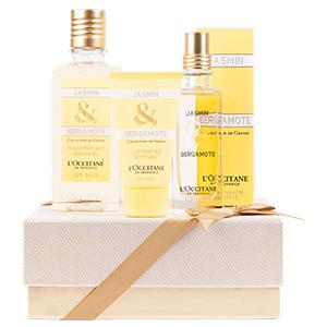 Duft-Geschenkbox Jasmin & Bergamotte